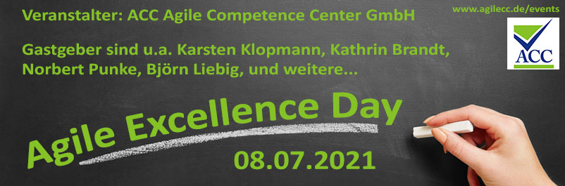 Agile Excellence Day 08.07.2021Agile Excellence Day 08.07.2021